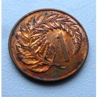1 цент 1980 года Новая Зеландия - из коллекции