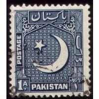 1 марка 1949 год Пакистан 47с