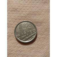 Испания  100 песет 1995 год FAO