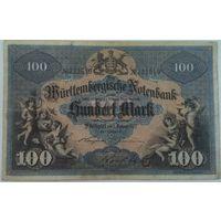 100 марок вюртемберг