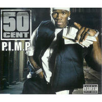 50 Cent - P.I.M.P.-2003,CD, Single, Enhanced,Made in UK.