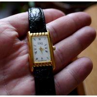 Швейцарские позолоченные часы женские ESQ Esquire Swiss