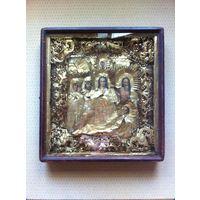 Покров Пресвятой Богородицы ( киота 67.5 - 57.5 - 11 см )