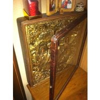 Икона Покрова Пресвятой Богородицы киота 67.5 х 57.5 х 11 см