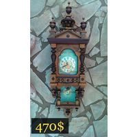 Часы Очаровательный домик Junghans, Garmany, 1905 г.