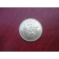 10 центов 1994 год Кипр (СОСТОЯНИЕ!!!)