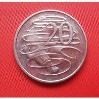 72-34 Австралия, 20 центов 1999 г.