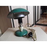 Лампа настольная из 60-х годов