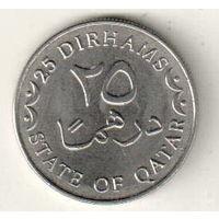 Катар 25 дирхам 2008-2012