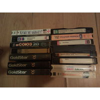 Видеокассеты 15 штук одним лотом