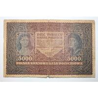 Польша 5000 марок 1919 год