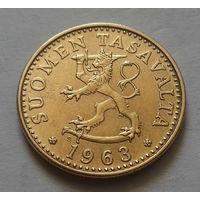 20 пенни, Финляндия 1963 г.
