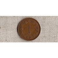 Мальта 1 цент 1972//(Uss)