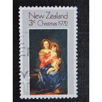 Новая Зеландия 1972 год. Рождество.