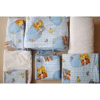 Детское постельное бельё 7 предметов в кроватку