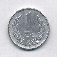 Польша, 1 злотый 1976 г.