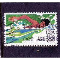 США.Спорт.Плавание.Олимпийские игры.Лос-Анджелес.1984.