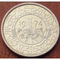 4495:  1 цент 1974 Суринам