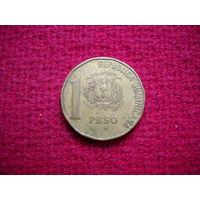 Доминиканская Республика Доминикана 1 песо 1991 г.