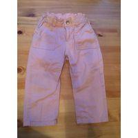 Фирменный джинсики HandM на 1.5-2 года нежно розового цвета. Длина 48 см, ПОталии24-25см(тянется).