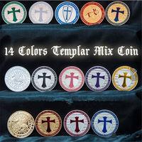 Орден тамплиеров 14 монет. Полная коллекция
