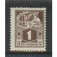 Эстония 18-й станд. выпуск 1м 1924 г