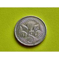 Австралия. 5 центов 2008.
