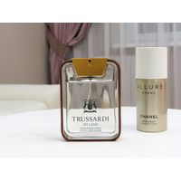 Trussardi My Land after shave lotion+Chanel Allure Deo в подарок