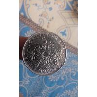 301# 5 франков 1995. франция