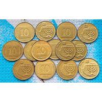 Израиль 10 агорот. Инвестируй в монеты планеты!
