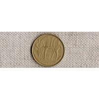 Эфиопия 10 центов/сантимов 2006/фауна/лев/(NS)