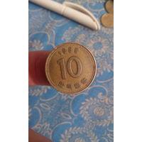303# 10 вон 1985.корея