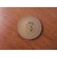 1 песета 1966 (71) Испания КМ# 796 алюминиевая бронза #99