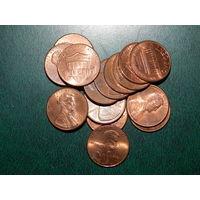 1 цент США 15 штук