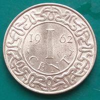 1 цент 1962 СУРИНАМ