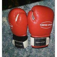 Перчатки боксерские, натуральная кожа