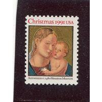 США. Рождество 1991  *