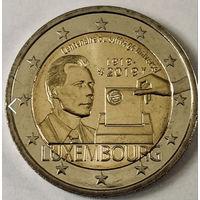 2019 2 евро Люксембург 100-летие всеобщего права голоса UNC
