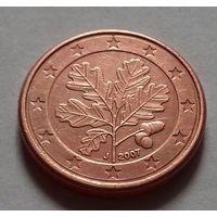 1 евроцент, Германия 2007 J