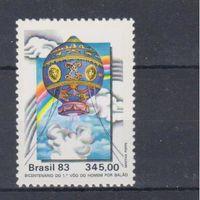 [620] Бразилия 1983.Воздушный шар.