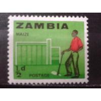 Замбия 1964 Стандарт 1/2 п*