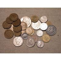 Лот из 26 монет стран Европы