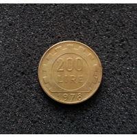 Италия, 200 лир 1978