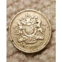 Великобритания. 1 фунт 1983