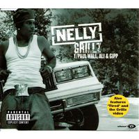 Nelly F/ Paul Wall, Ali & Gipp - Grillz-2006,CD, Single,Enhanced,Made in  Europe.