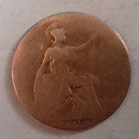 1/2 пенни, Великобритания 1904 г., Эдуард VII