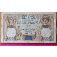 1000 франков 1936г