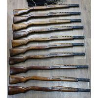Ложе к макету винтовки АВТ, в комплекте с радиатором.