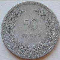 9. Турция 50 куруш 1947 год*