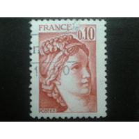 Франция 1978 стандарт 0,10